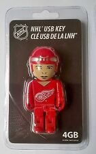Detroit Red Wings Nhl llave USB 4GB Reproductor