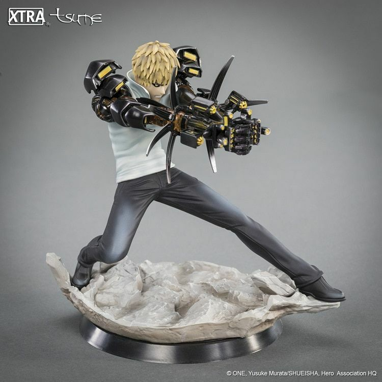 Genos One Punch uomo Anime azione cifra Collectible giocattoli bambola Gift With scatola 15cm
