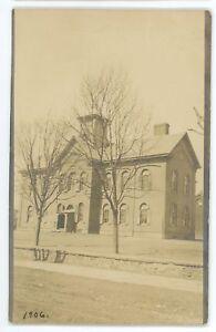 RPPC-School-in-BLOOMSBURG-PA-Columbia-County-Pennsylvania-Real-Photo-Postcard