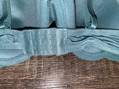 Secret Treasures ~ Womens T-Shirt Bra Slate Green Padded Underwire ~ Choose Size