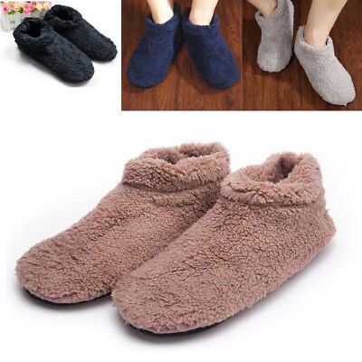 Soft Furry Fluff Warm Comfy Men Winter Slippers Casual Home Indoor Shoes 11004