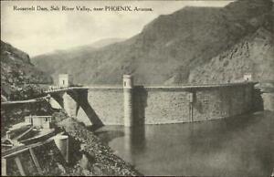 Roosevelt-Dam-Salt-River-Valley-Near-Phoenix-AZ-c1910-Postcard