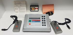 "Monarch CTX-2000 Makuport Vintage Console ""Pong"" with controllers and manuals"
