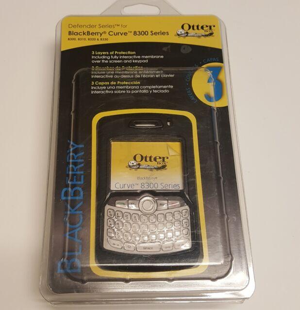 OtterBox Defender Case for Blackberry Curve 8300, 8310, 8320, 8330 - Black