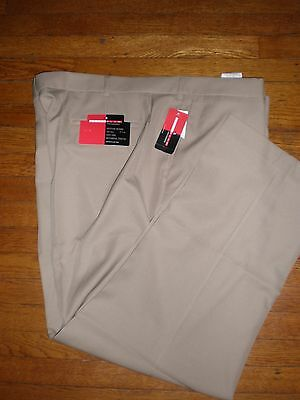 48 X 30 RETAIL $80.00 NWT GRAND SLAM PERFORMANCE BEIGE PANTS SZ