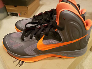 online retailer f6073 7d71f Image is loading New-Nike-Hyperfuse-Orange-Grey-Model-429614-005-