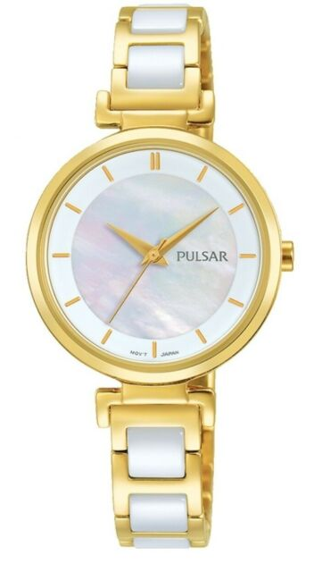 Pulsar Ladies Ceramic Dress Watch - PH8272X1 PNP