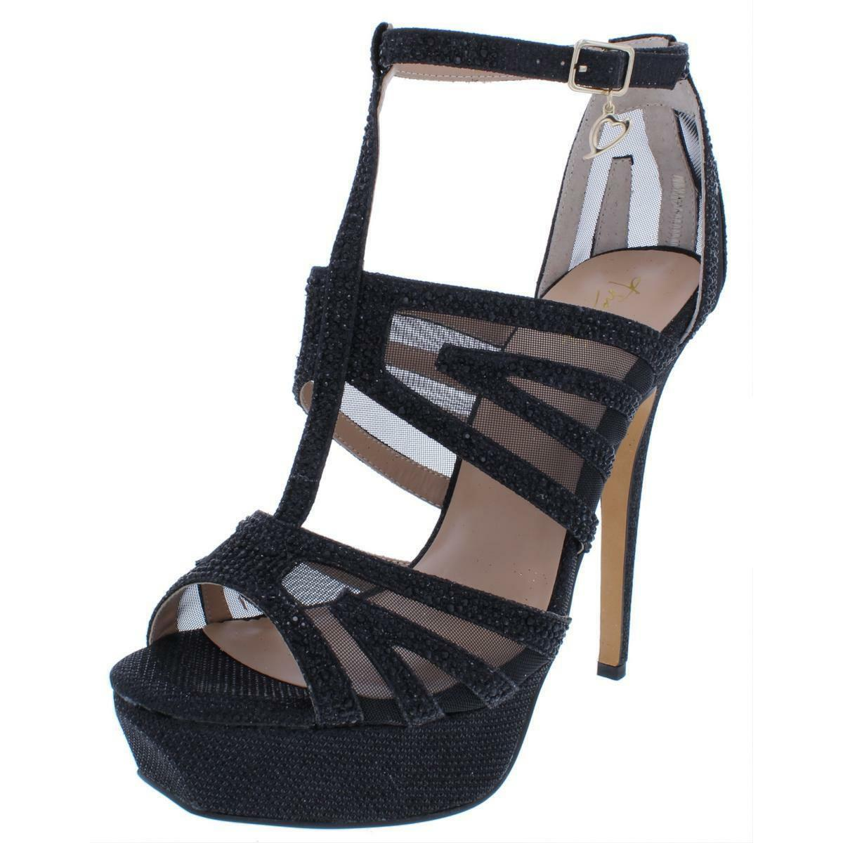 Thalia Sodi donna Flairr Platform Dress Sandals (nero, 10M)