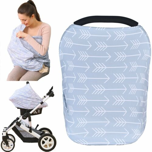 Baby Car Seat Cover canopy nursing and breastfeeding cover classical arrows