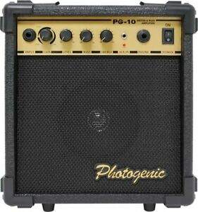 PhotoGenic Photogenic guitar bass amp with overdrive function PG10