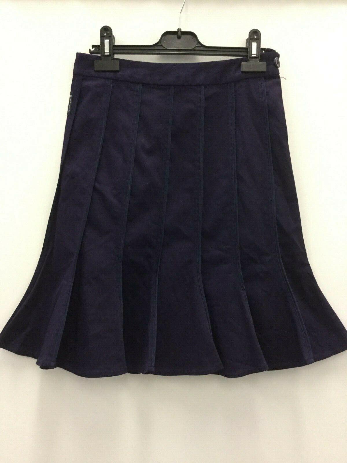 Armani Jeans ladies flared skirt mauve purple size cotton elastane