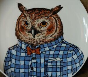 Rachel Kozlowski West Elm Owl Plate