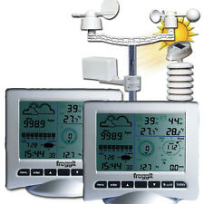 Wetterstation Twin WH3080 Solar UV Licht USB 2Displays