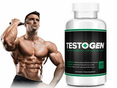 Testogen (90 Capsules) Testosterone Triple Action Fast & Free Uk Delivery |  eBay