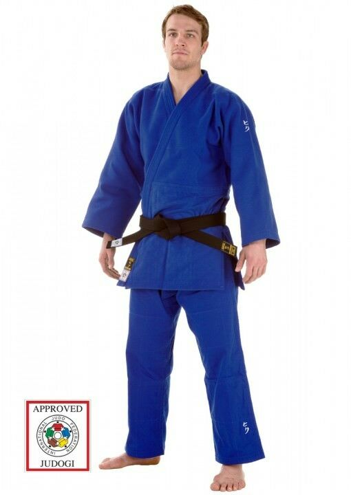 JUDOANZUG, HIKU SHIAI II, IJF-ZULASSUNG 2015, BLAU, ver. Größen, Karate, Judo,