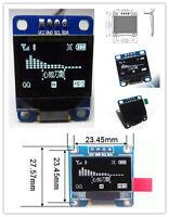 "3-5V 0.96"" 12C Serial 128X64 OLED LCD LED Display Module for Arduino White m1"