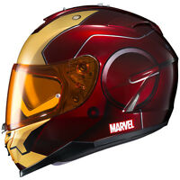 Fast Shipping Hjc Is-17 Marvel Iron Man Motorcycle Helmet