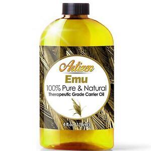 100-PURE-Emu-Oil-by-Artizen-Huge-4oz-Bottle-Premium-Skin-amp-Hair-Moisturizer