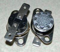 2pc Ksd301 Thermostat Temperature Control Switch 50°c(122°f) 250v10a Normalclose