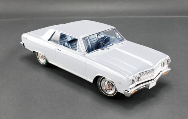 ACME 1965 CHEVROLET Mailbu SS-Hermine blanc Limited Edition 500 pcs 1 18New objet