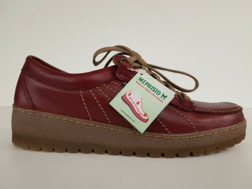 Femme Chaussures Mephisto P Lady Fw1718 Red F5vn8wqA