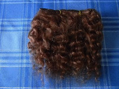 English Mohair golden blonde for rooting dolls Reborn 1//2 oz