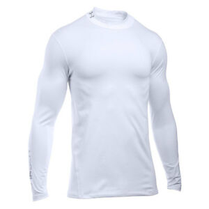 d978943754 Details about Under Armour Compression Base Layer /Skin Long Sleeved White  XS,SM, M,L XL XXL
