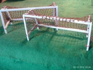 Subbuteo Accessories  Goals with brown nets - <span itemprop=availableAtOrFrom>Stirling, United Kingdom</span> - Subbuteo Accessories  Goals with brown nets - Stirling, United Kingdom