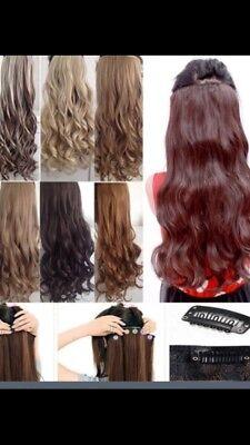 hair extensions clips krøller