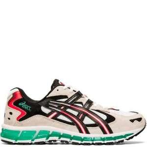 Asics-Men-039-s-Gel-Kayano-5-360-White-Cream-Running-Shoes-1021A160-101