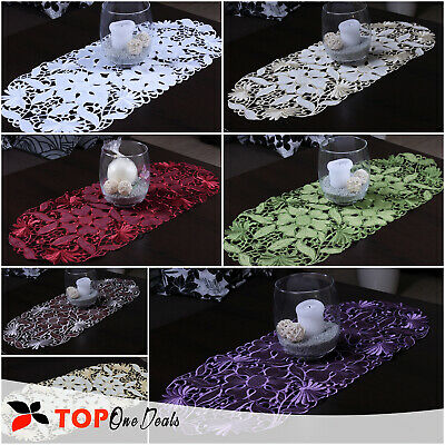 Amazing Oval Table Runners Tablecloths Dining Living Room Table Decorations Ebay