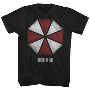 Resident-Evil-BIG-UMBRELLA-T-Shirt-in-Sizes-SM-5XL-WITH-NECK-TAG-Black-Cotton