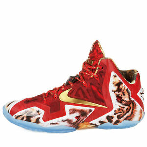 purchase cheap a8032 119ff Image is loading NIKE-LEBRON-JAMES-XI-11-PREMIUM-034-NBA-