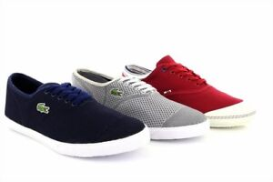 9811ab5a1055 Image is loading Mens-Lacoste-Ortholite-Rene-II-Comfort-Pique-Trainers-