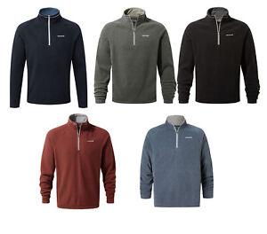 Craghoppers-Mens-Selby-Top-Half-Zip-Lightweight-Walking-Micro-Fleece-Quick-Dry