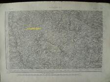 Carte d'État-Major Alençon Sud-Ouest 1894