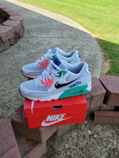 Size 9.5 - Nike Air Max 90 Essential Watermelon 2018 for sale ...