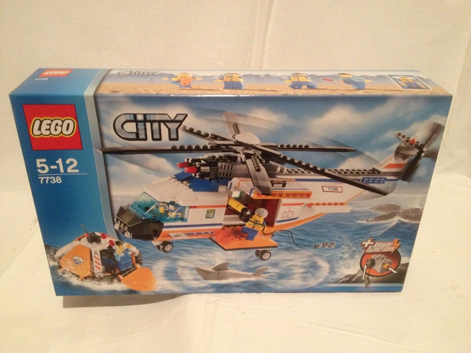Lego City 7738 Coast Guard Helicopter NEUF 1 édition
