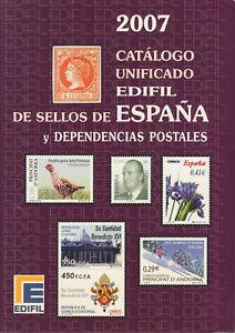 Edifil-2007-Spain-amp-Dependencies-full-color-priced-in-uros-NEW