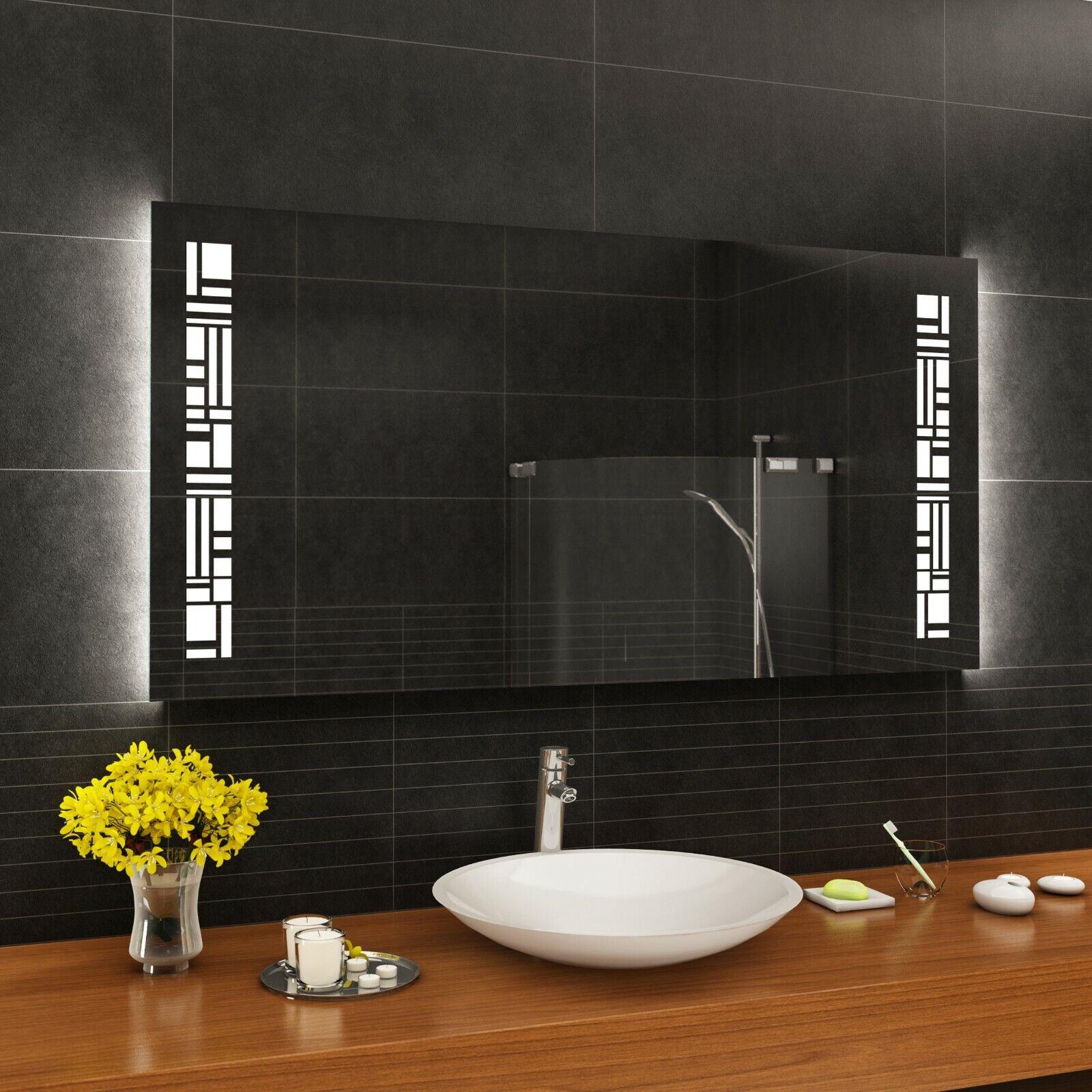 badspiegel nach m40 maß wandspiegel badezimmerspiegel  leuchtspiegel neue wege gehen #7