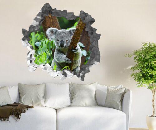 3D Cute Koala Tree Pattern 57 Wall Murals Wall Stickers Decal breakthrough AJ CA