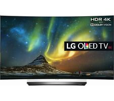 LG OLED65C6P Curved 65-Inch 4K Ultra HD Smart OLED TV HDMI BUNDLE!