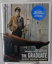 The Graduate (Blu-Ray Disc, Criterion Collection, Feb-2016) 1967 Dustin Hoffan