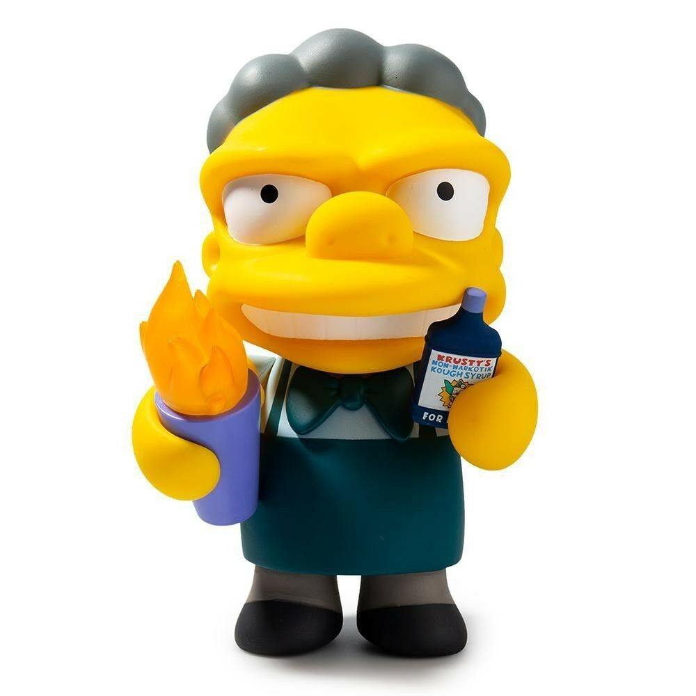 The Simpsons Flaming Moe's 7  Vinyl Figure