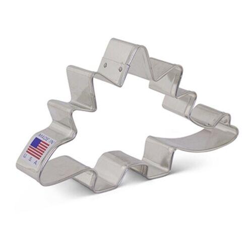 Cookie Cutter ~ Stegosaurus Dinosaur ~ Ann Clark ~ Tin Plated Steel USA