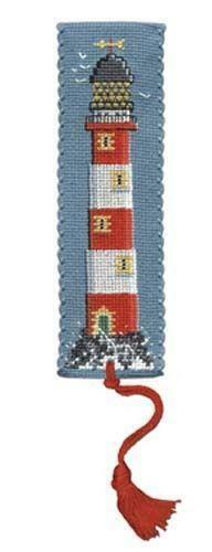 Lighthouse Bookmark Cross Stitch Kit by Textile Heritage