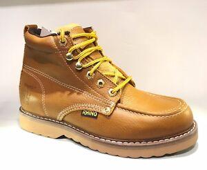 men's moc toe leather boots
