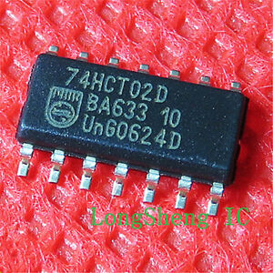 TOS//FSC 74HC02A SOP-14 Quad 2-input NOR gate