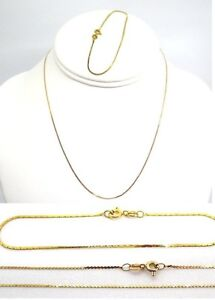 14K-Yellow-Gold-Necklace-and-Bracelet-2-1-grams-total