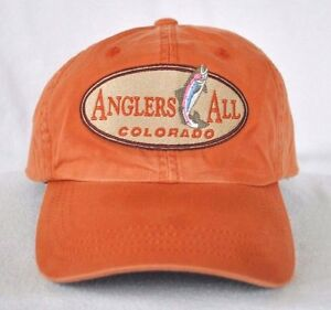 4e946bdf7a0 ANGLERS ALL COLORADO  Fly Fishing Ball cap hat w  BUZZ OFF  IMPERIAL ...
